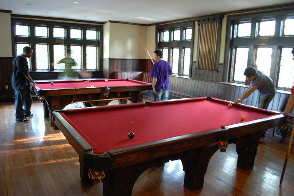 Campus Club Renovations And Upgrades Princeton University Nalls - Princeton pool table
